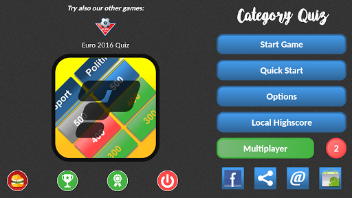 Category Quiz (Trivia) 3.5.3 screenshots 1