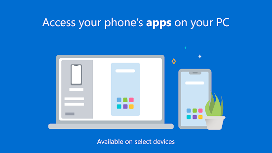 Your Phone Companion - Link to Windows