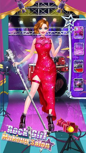 ud83cudf99ufe0fud83dudc67Music Girl Makeup Salon - Rock Star Dress Up  screenshots 23
