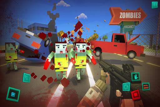 Zombie Pixel Warrior 3D- The Last Survivor 1.4 screenshots 1