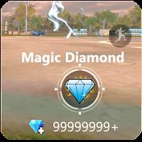 Free Magic Diamond Fire Spin