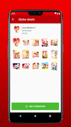 I Love You Stickers for Whatsapp - WAStickerapps  Screenshots 3