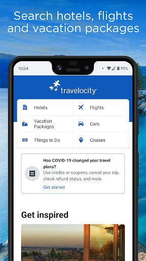 Travelocity - Deals on Flights, Hotels & Travel  screenshots 1