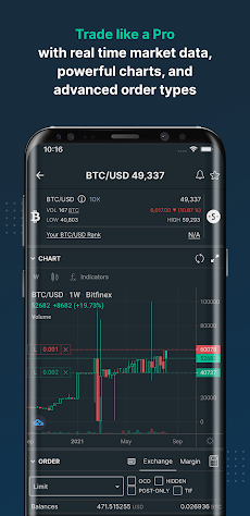 Bitfinex: Trade Bitcoin & Digital Assetsのおすすめ画像3