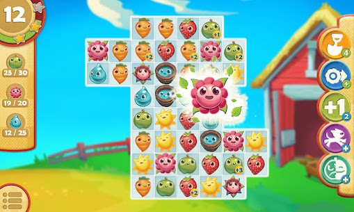 Farm Heroes Saga APK MOD 5.66.3 (Move, Unlimited Boosters) 7