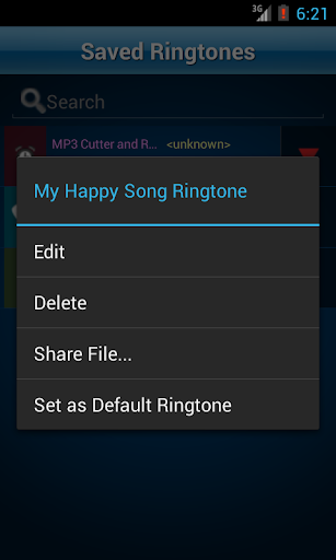 MP3 Cutter and Ringtone Makeru266b 2.5 Screenshots 7
