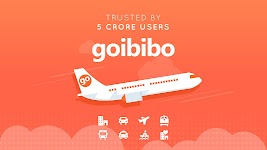 screenshot of Goibibo Travel App - Hotel, Flights, Train and Bus