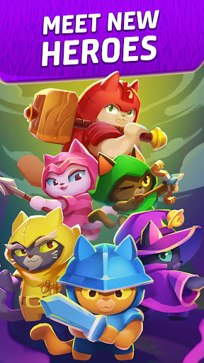 Cat Force - Free Puzzle Game modiapk screenshots 1