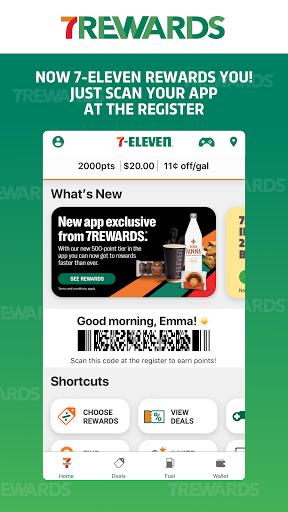 7-Eleven: Rewards & Shopping screenshots 1