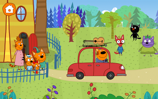 Kid-E-Cats: Picnic with Three Catsu30fbKitty Cat Games  screenshots 24