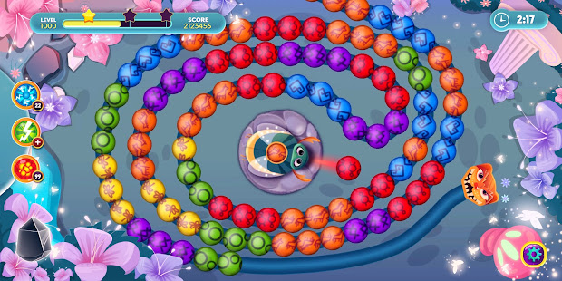 Violas Quest: Marble Blast Bubble Shooter Arcade