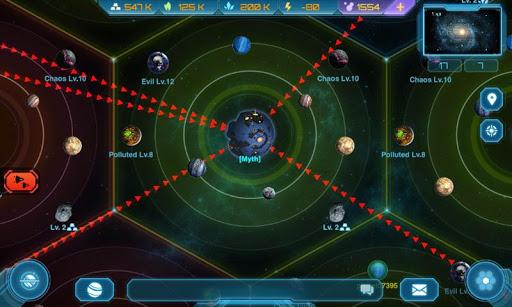 Galaxy Clash: Evolved Empire 2.6.6 screenshots 3