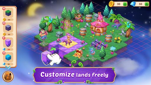 Merge Wonders - Elf Gardens apkpoly screenshots 5