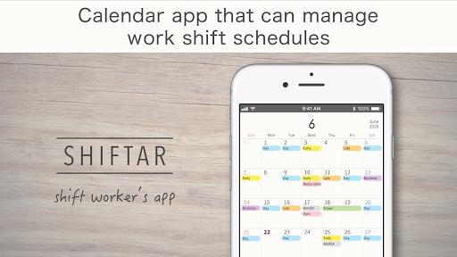 SHIFTAR - Shift Worker Calendar  screenshots 1