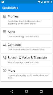 ReadItToMe – Incoming notifications read out loud (PRO) 2.5.2 Apk 1