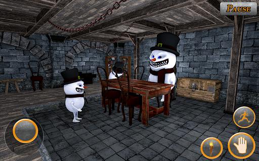 Scary Snowman Scream Town: Horror Ice Survival 1.5 screenshots 2