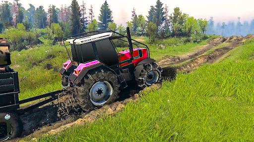 Tractor Pull & Farming Duty Game 2019 1.0 Screenshots 7