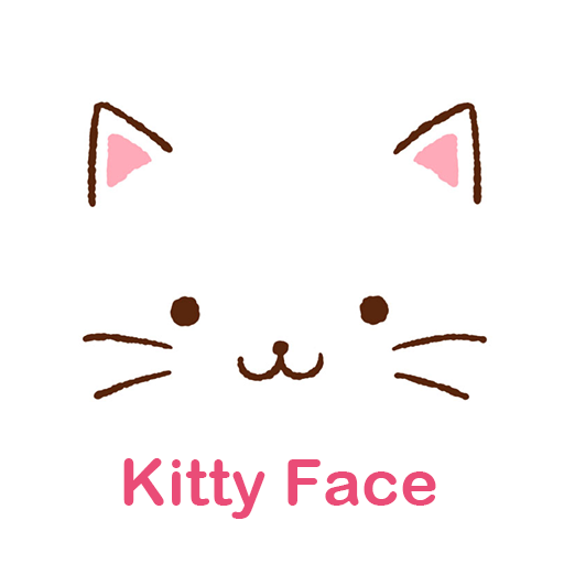 Cute Theme-Kitty Face-