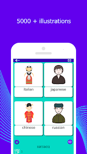 Learn Russian vocabulary with pictures. 5000 words