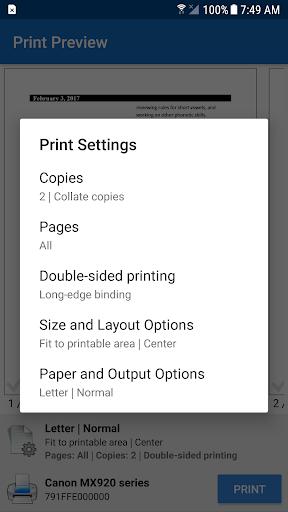NokoPrint - WiFi, Bluetooth, USB printing 3.7.5 Screenshots 4
