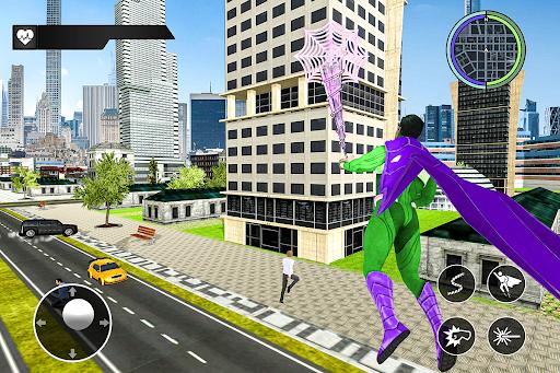 Black Rope Hero Vegas Mafia Superhero Crime Battle  screenshots 6