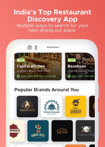 Dineout:Find Restaurants, Deals & Assured Cashback 9.9.8 Screenshots 1