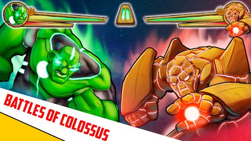 Superheroes League - Free fighting games 2.1 screenshots 16
