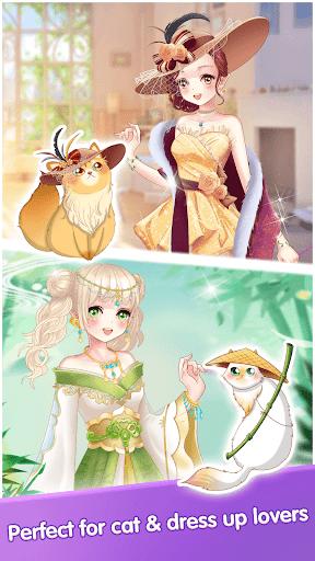 My Cat Diary - Merge Cat & Dress up Princess Games  screenshots 5
