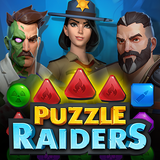 Puzzle Raiders: Zombie Match-3 RPG