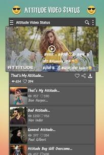 Attitude Video Status 1.2 APK with Mod + Data 3
