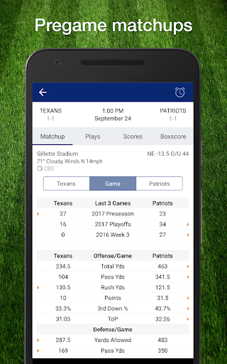 49ers Football: Live Scores, Stats, Plays, & Games 9.1.2 screenshots 24