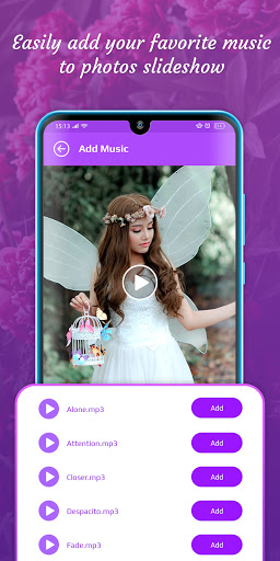 Video Slideshow Maker from Photo & Music modavailable screenshots 4