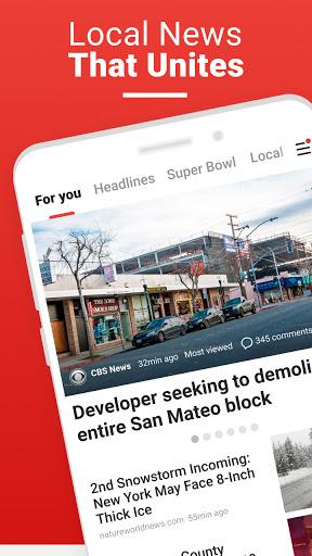 News Break: Local Breaking Stories & US Headlines  screenshots 1