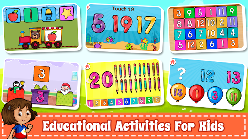 Learn Numbers 123 Kids Free Game - Count & Tracing 2.9 Screenshots 9