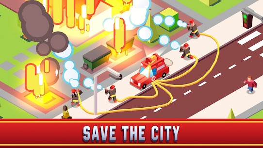 Idle Firefighter Empire Tycoon Mod Apk- Management Game (Unlimited Money) 1