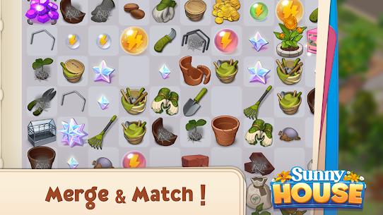 Merge Manor : Sunny House MOD APK 1.0.28 (Unlimited Money) 4