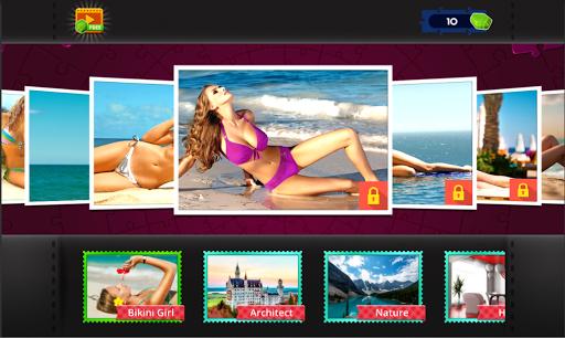 Bikini Puzzles Jigsaw - Puzzle Sexy Suit Girls 1.5 screenshots 5
