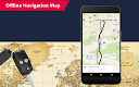 screenshot of GPS Offline Navigation Route Maps & Direction