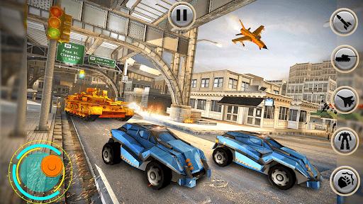 Tank Robot Car Games - Multi Robot Transformation screenshots 24