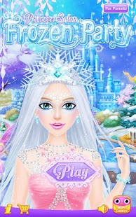 Princess Salon: Frozen Party Screenshot