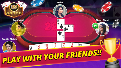 28 card multiplayer poker screenshot 1