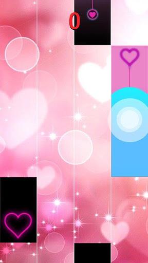 Heart Piano Tiles Pink 1.1.0 screenshots 1