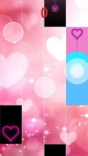 Heart Piano Tiles Pink screenshots 1