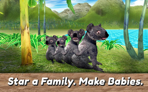 koala family simulator - try australian wildlife! screenshot 3