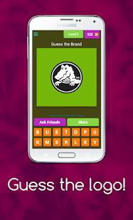 Guess the logo - Quiz game 2021 8.25.3z screenshots 1