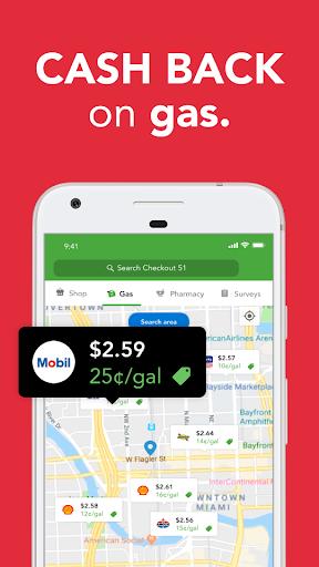 Checkout 51: Gas Rewards & Grocery Cash Back modiapk screenshots 1