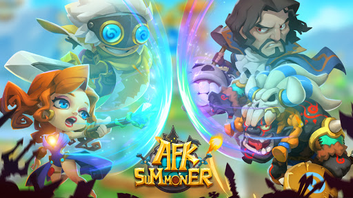 AFK Summoner : fantasy hero war  screenshots 1