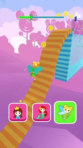 Shift Princess: fairy car games. Drive ahead race!  screenshots 2
