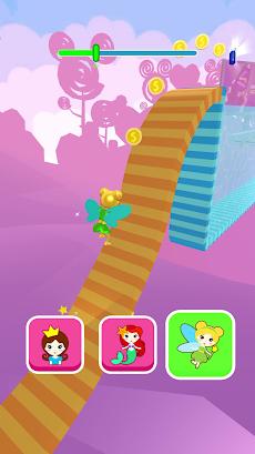 Shift Princess:エキサイティングなフェアリープリンセスレースゲーム。ミニゲーム パズルのおすすめ画像2