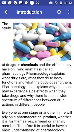Drugs & their Classes  screenshots 2